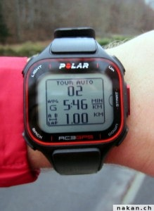 Polar RC3 GPS tour