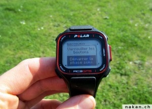 Polar RC3 GPS prochaine tape