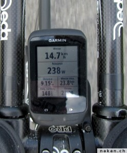 Garmin Edge 510 - puissance