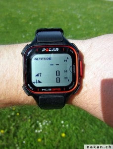Polar RC3 GPS Altitude