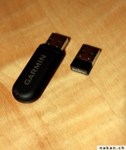 Stick ANT+ USB de Suunto et de Garmin