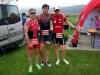 Triathlon par équipe au Val de Ruz et premier podium
