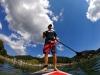 Paddle sur le lac de Joux