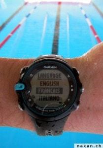 Garmin Swim en français