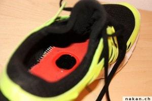 Nike Free avec accéléromètre