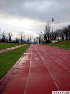 Piste stade de Coubertin à Lausanne