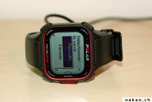 Paramétrage initial de la Polar RC3 GPS
