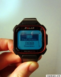 Polar fitness test 1
