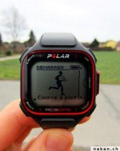 Polar RC3 GPS recherche GPS
