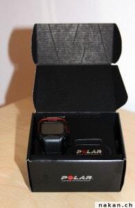 Déballage de la Polar RC3 GPS