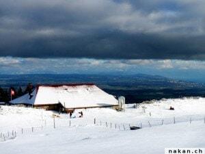 Ski de fond au Mollendruz