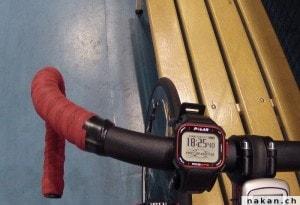 La Polar RC3 GPS sur mon vélo de piste