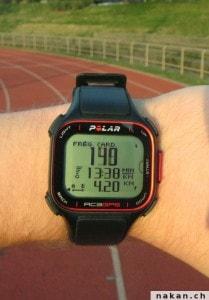Polar RC3 GPS Fréquence cardiaque