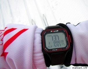 Ski de fond avec la Polar RC3 GPS