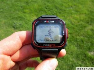 Polar RC3 GPS démarrer entrainement