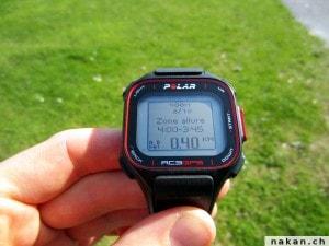 Polar RC3 GPS entrainement