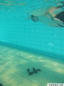 Les GoPro sous l'eau