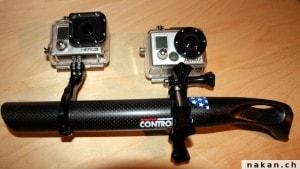 Comparaison entre GoPro Hero 2 et Go Pro Hero 3