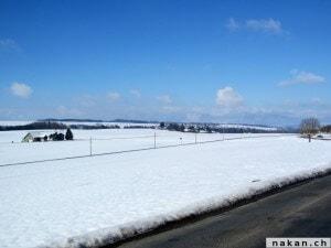 Le Gros de Vaud sous la neige