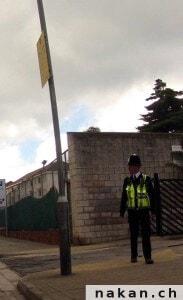 Gibraltar policemen