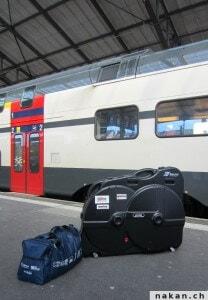 Transport de mon vélo dans le train