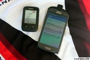 Coupler le Edge 510 avec un Smartphone