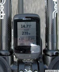 Garmin Edge 510 - puissance