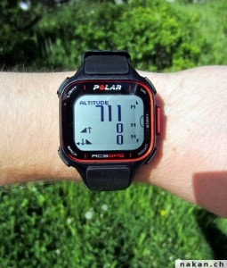 Polar RC3 GPS Altitude
