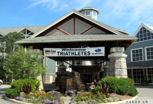 Ironman 70.3 Muskoka: Deerhurst resort