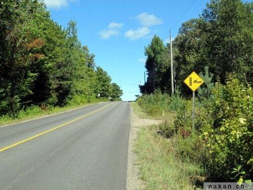 Ironman 70.3 Muskoka: signalisation routière