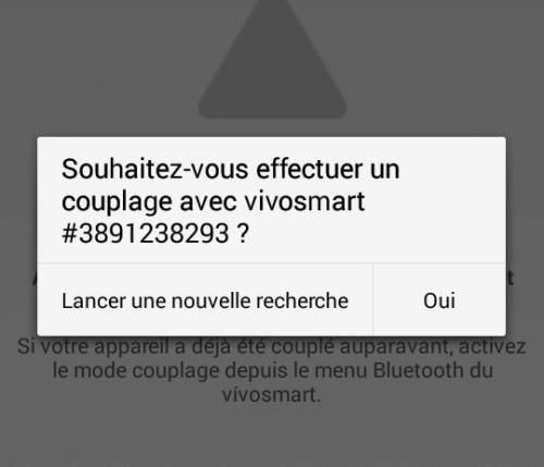 Connexion du Vivosmart à Garmin Connect mobile