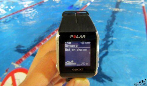 Polar V800 natation