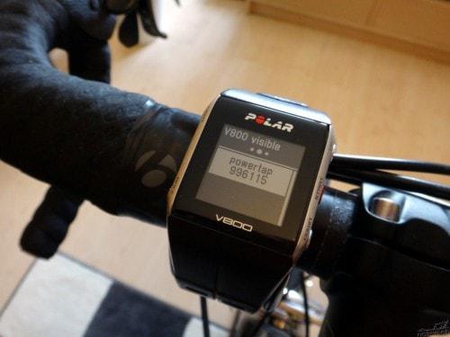 Polar V800 et PowerTap G3