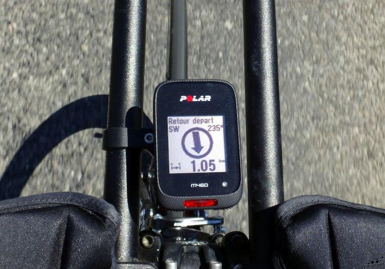 Le compteur cycliste Polar M460 testé de fond en comble - nakan.ch