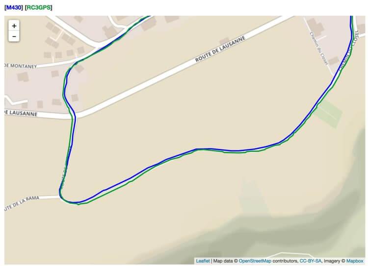 Choc des générations - épisode 2: Polar RC3 GPS contre M430 - nakan.ch