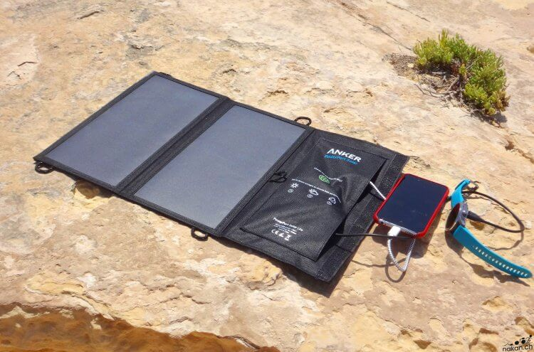 Anker PowerPort Solar Lite: un chargeur solaire pour ne jamais manquer de jus - nakan.ch