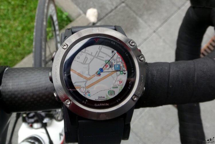 Les fonctions de cartographie de la Garmin fenix 5X testées de fond en comble - nakan.ch