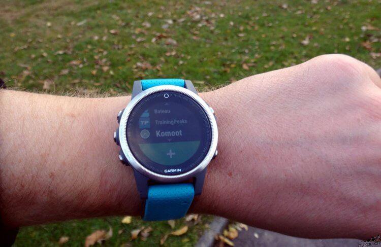 Grâce à l'application Komoot, on créé des parcours pour sa Garmin depuis le smartphone - nakan.ch