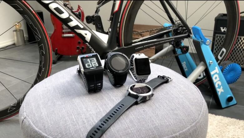 Polar V800, Suunto Spartan Trainer, Garmin fenix 5s, Apple Watch