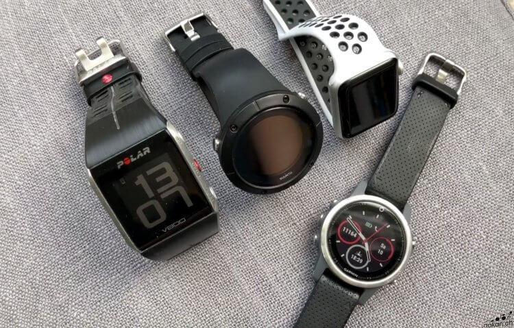 Polar V800, Suunto Spartan Trainer, Garmin fenix 5s, Apple Watch