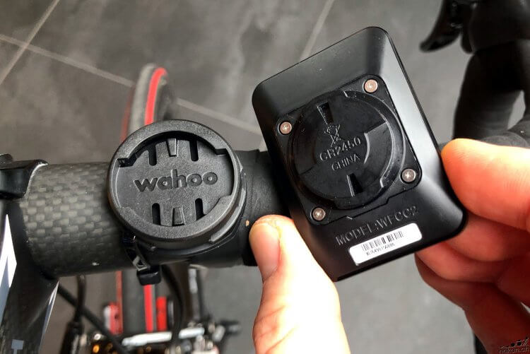 Support du Wahoo ELEMNT Mini
