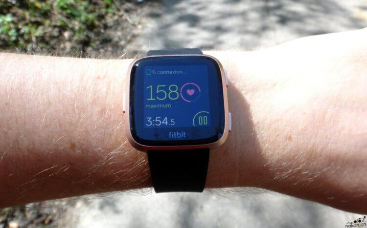 Fitbit Versa: la montre connectée testée de fond en comble - nakan.ch