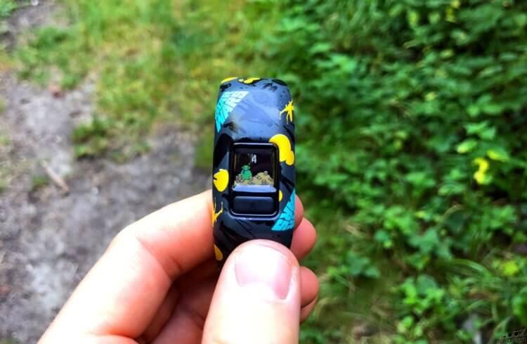 Le Garmin Vivofit Jr 2, bracelet connecté pour enfant, testé de fond en comble - nakan.ch