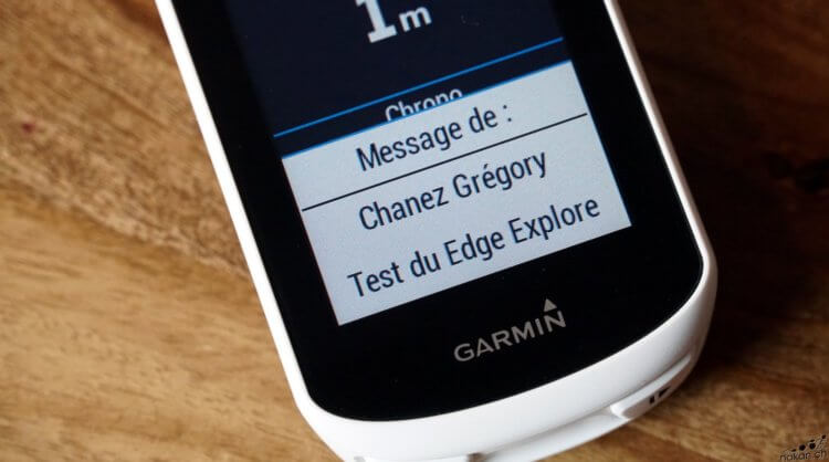 Le compteur Garmin Edge Explore testé de fond en comble - nakan.ch