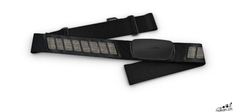 Tout savoir sur la ceinture cardio Garmin HRM-Dual - nakan.ch