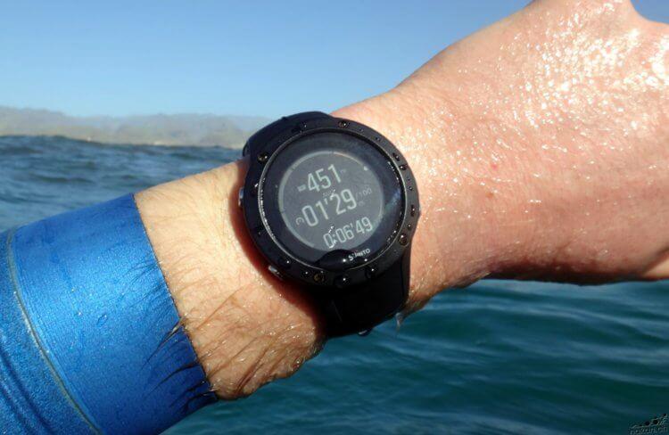 Le grand test GPS et cardio en eau libre 2019 - nakan.ch
