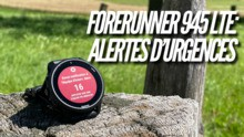 Garmin Forerunner 945 LTE: Fonctions d'assistance et SOS